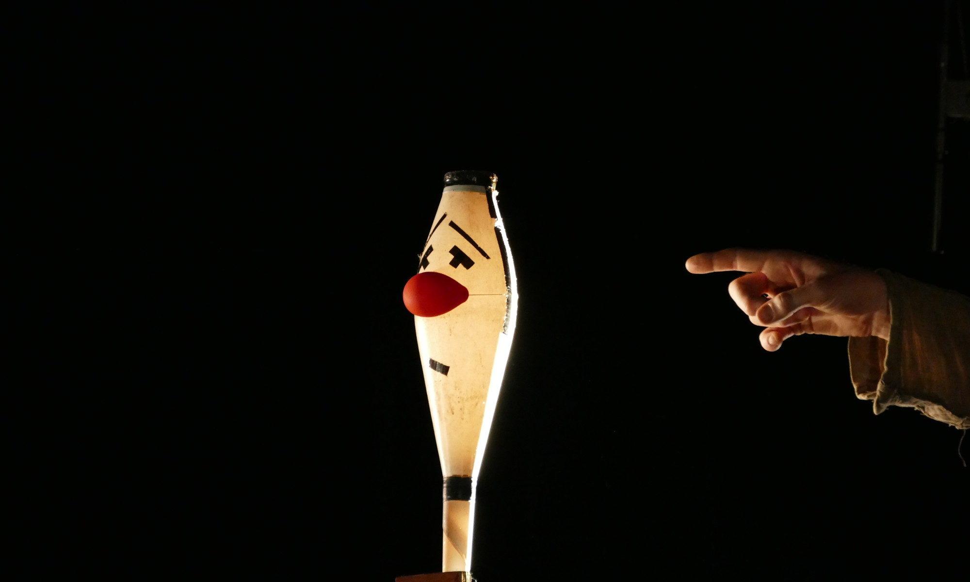 cie le ressort - clown vivant